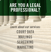Learn More About Our Legal Data and Marketing Services